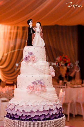 Cake de Boda -Rufles