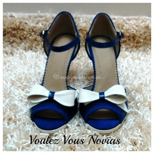 Novias azul