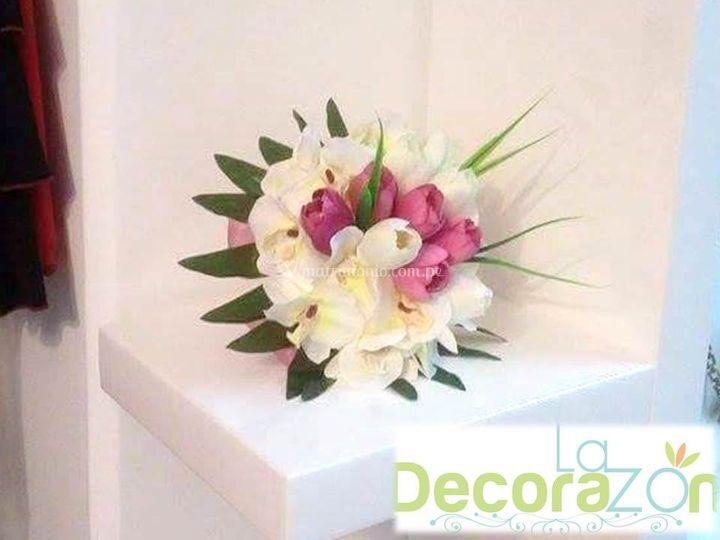 Bouquet de tulipanes