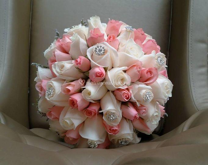 Bouquet rosas rosadas