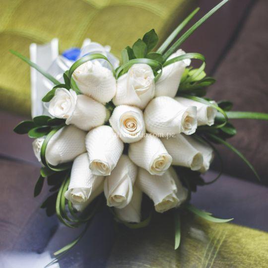Bouquet boda religiosa