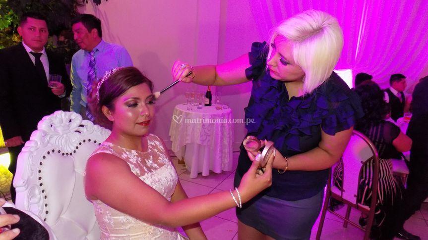 Un ligero cambio en la novia