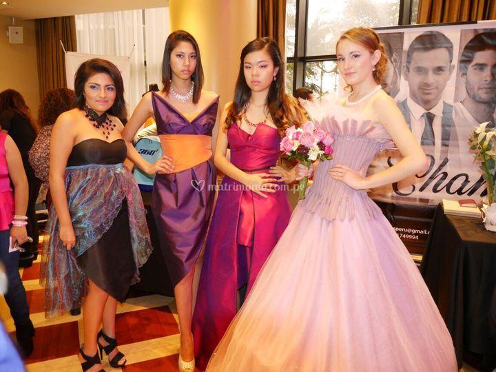 Desfile de vestidos