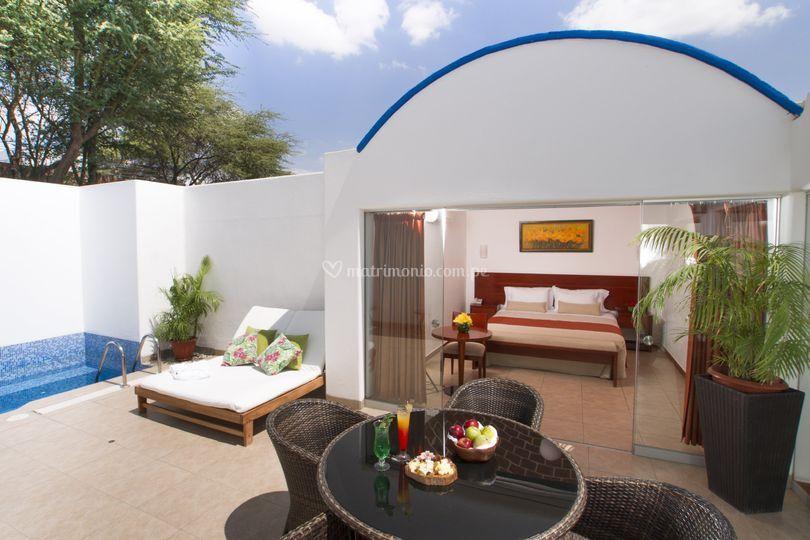 Habitación Suite Matrimonial