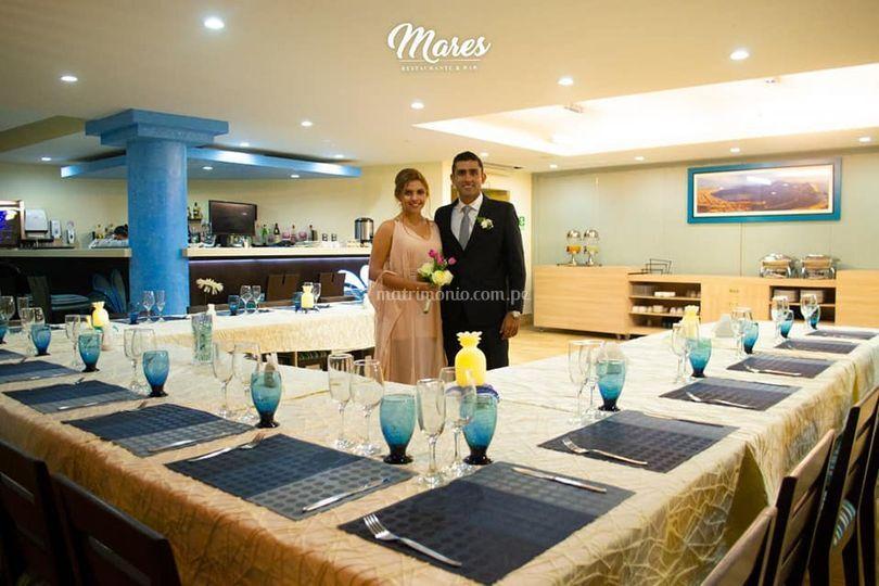 """Nuestro Restaurante """"Mares"""""""