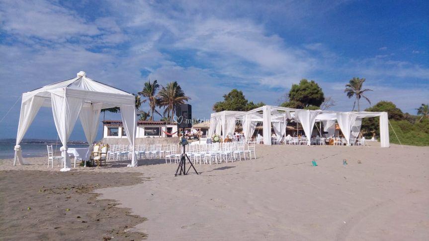 Amplia zona de playa