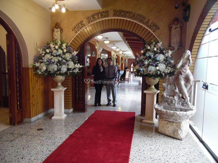 Entrada al salón