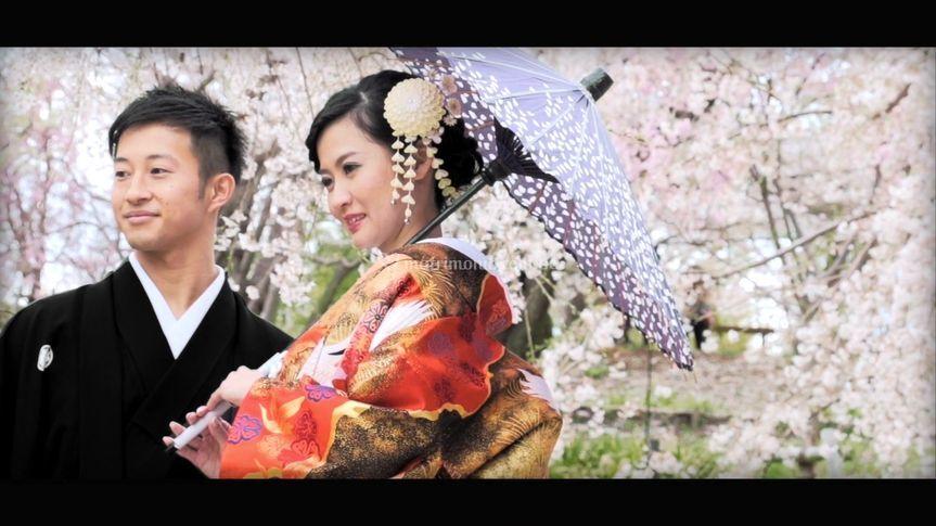 Seiji & Tokiko-Kimono