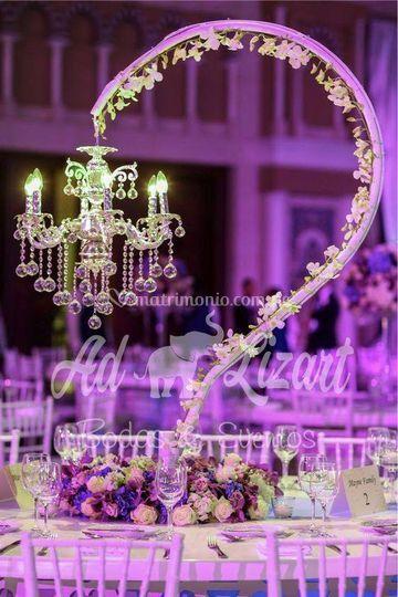 Bridal cristal chandelier