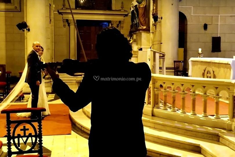 Novios Ave María Violín