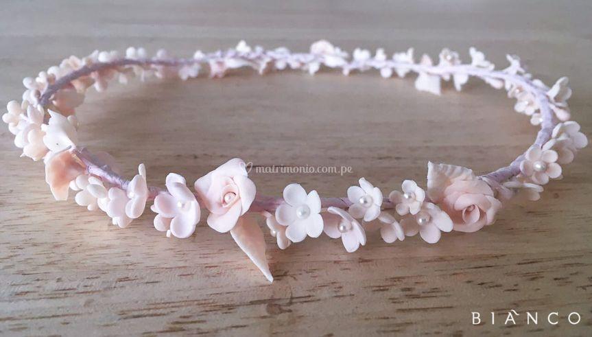 Bianco tiara de Porcelana
