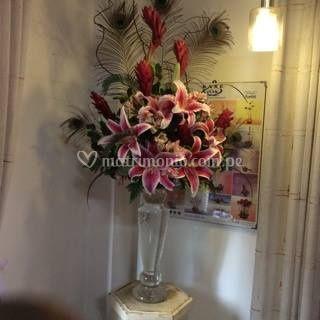 Arreglo floral esquinero