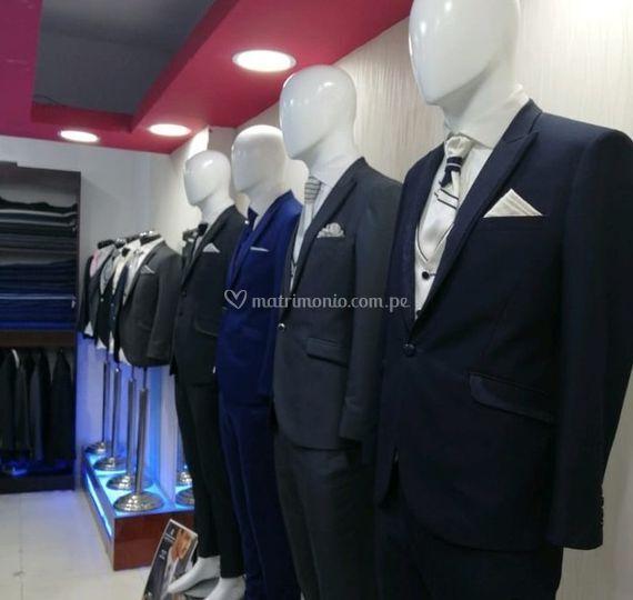 Gran variedad de ternos