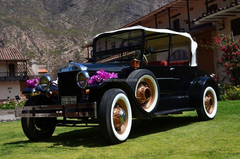 Carro recién casados