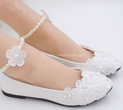 Balerinas para novias