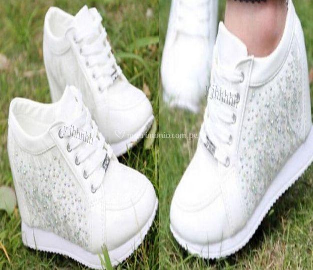 Zapatillas de novias