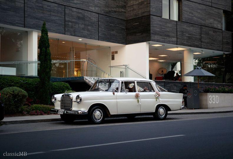 Clásico Mercedes 190