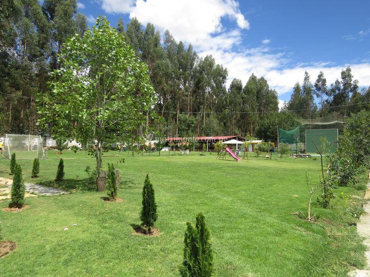 Amplio espacio verde
