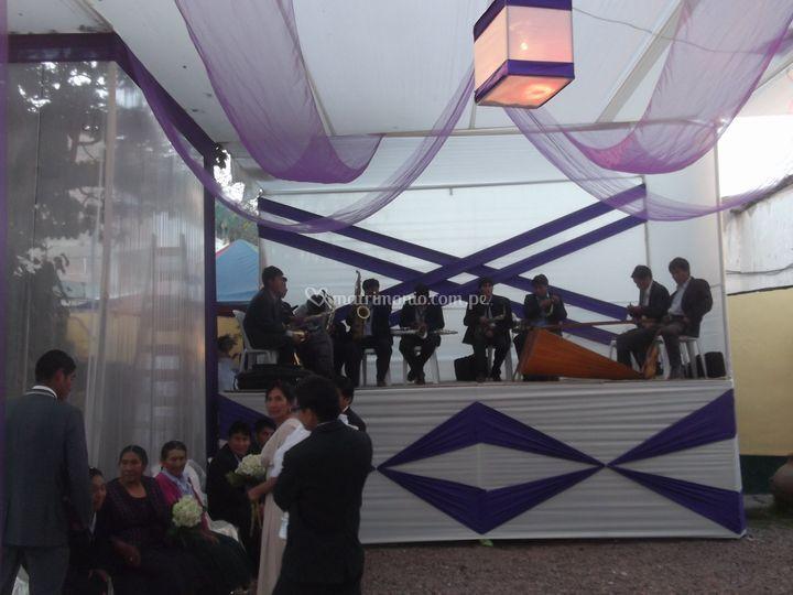 Orquesta decoración