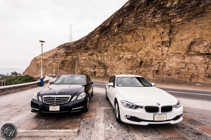Mercedes Benz y BMW