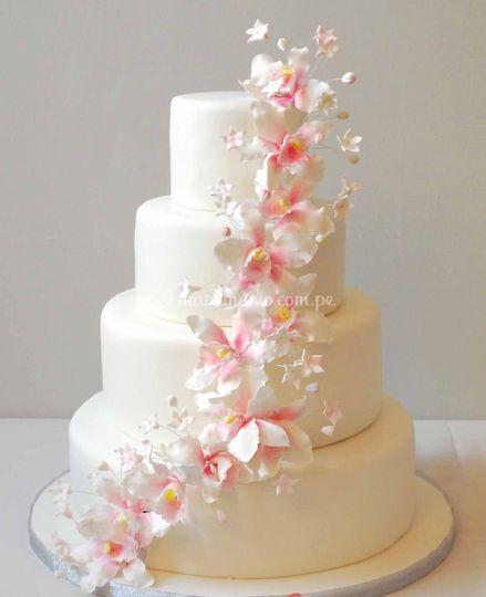 Torta floral