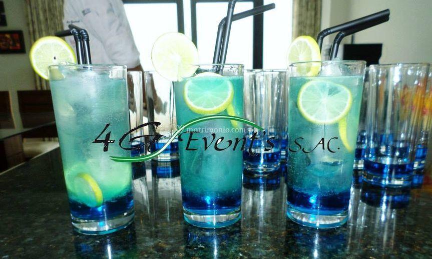 Bebidas a su elección