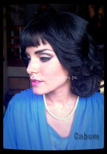 Cynthia Abugattas Make Up
