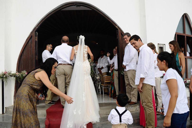 El ingreso de la novia