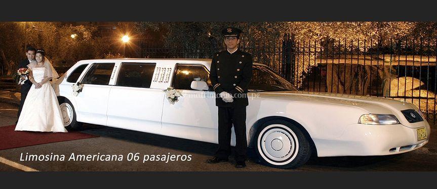 Limousine Americana 6 pax