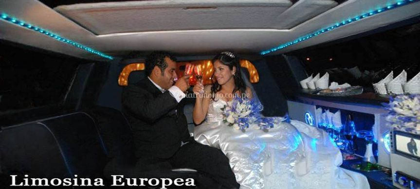 Interior Limousine Europea 6 p