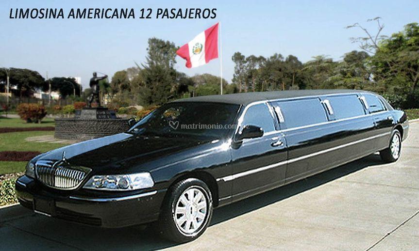 Limousine Americana 12 pax
