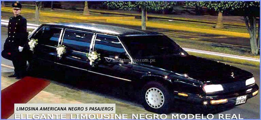 Limousine Americana 5 pax