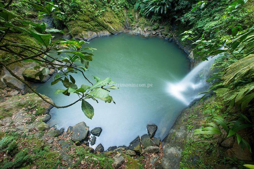 Catarata de Pishurayacu