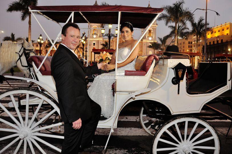 Carro boda