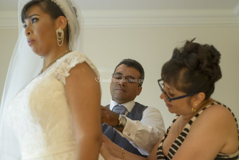 Arreglos a la novia