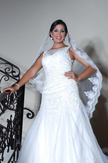 Fotos artísticas de novia
