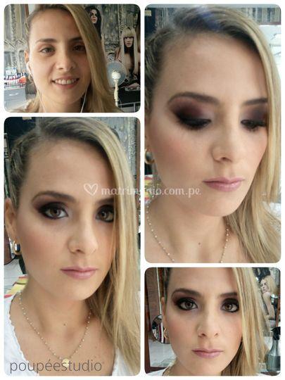 Peinado y maquillaje