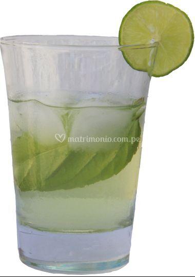 Agradable bebida refrescante