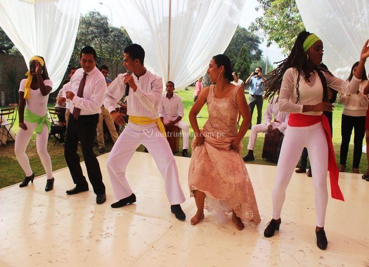 Activación afroperuana