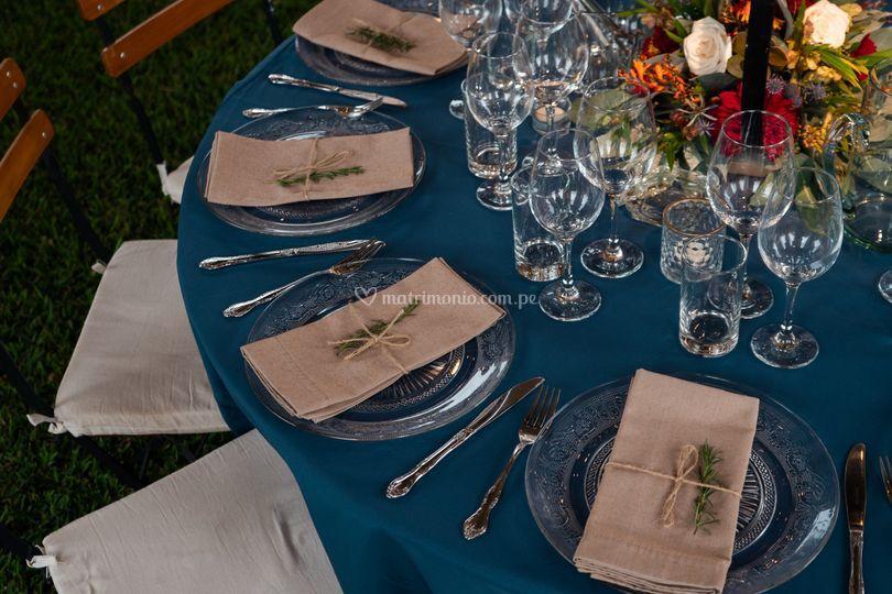 Setting de mesa