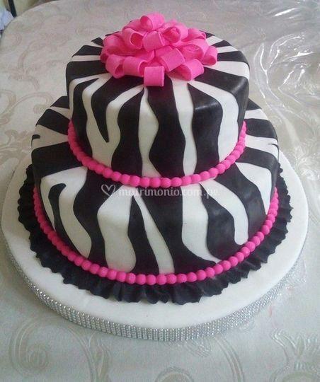 Torta animalprint