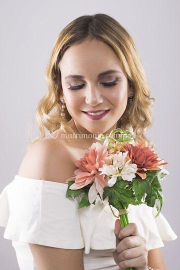 Maquillaje novia sofisticada