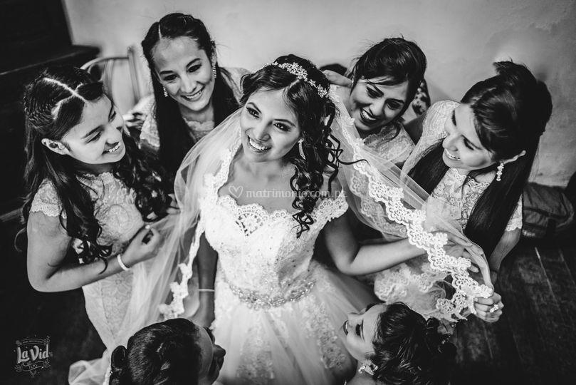 Previos de la novia