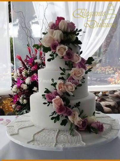 Torta decorada