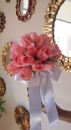 Bouquets rosa