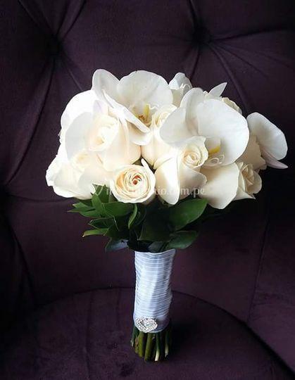 Bouquet Orquídea