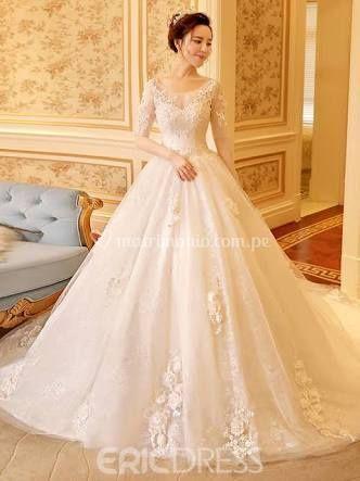 Vestido de novia: princesa