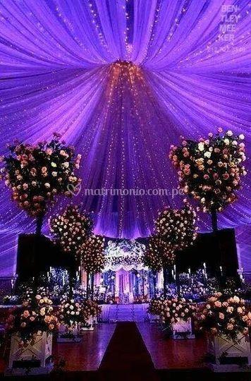 Magnificas decoraciones de boda