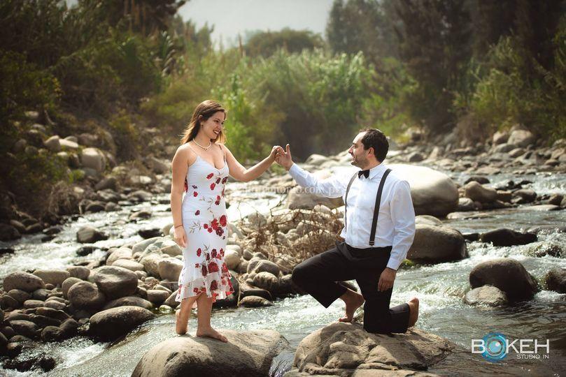 Sesión de fotos pre boda