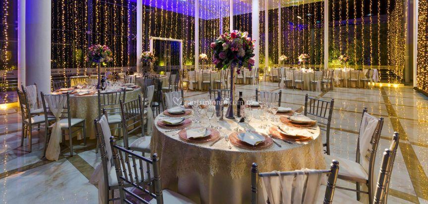 Bodas Elegants variedad mesas